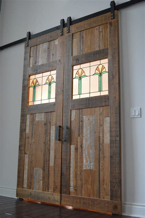 Portfolio Of End Grain Woodworking Company Products Barn Door Catering