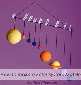 How to make a solar system mobile