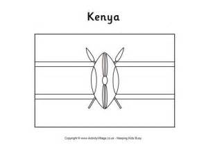 kenyan flag coloring page collections