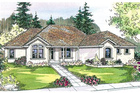 Mediterranean House Plan by Mediterranean House Plans Roselle 30 427 Associated