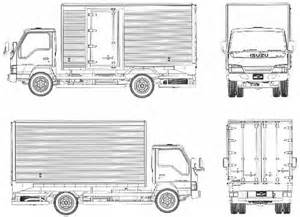Isuzu Npr Dimensions The Blueprints Blueprints Gt Trucks Gt Isuzu Gt Isuzu