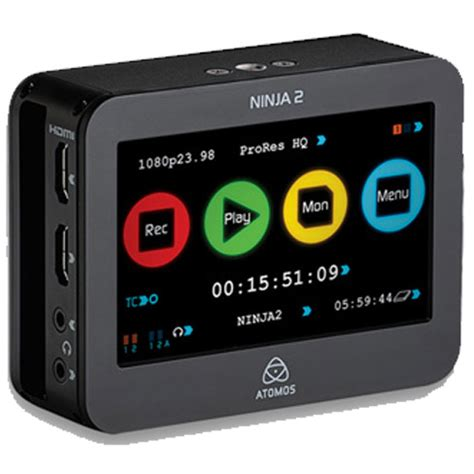 atomos ninja 2 dslr portable hdmi field recorder video