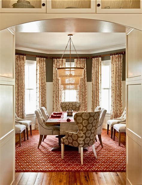 benjamin moore chelsea gray in a dining room with white cove ceilings best dark gray paint color farmhouse inspired design home bunch interior design ideas