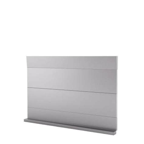 inoxia urbania 30 in x 18 in stainless steel backsplash