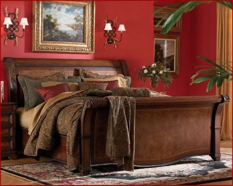 aspen bedroom furniture sleigh bed napa as74 400