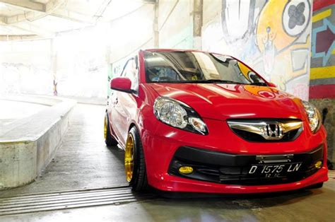 honda brio modified honda brio black modified