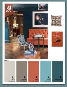 rust gray blue color combo living room colors ideas