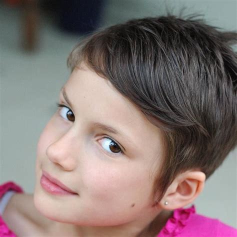 short hair chic on empire little girl with a short pixie cut haircuts pinterest