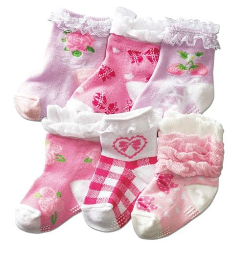 Baby Sock Anti Selip 6pcs Anti Slip New Born Baby Non Slip Socks For