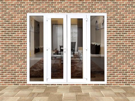 external doors with side panels 6ft upvc doors with 2 wide upvc side panels