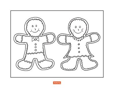 coloring pages gingerbread family gingerbread men and women coloring pages coloring pages