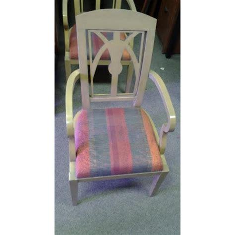Casual Sitting Chairs Salt Marsh Wood Cloth Casual Reception Sitting Chair W