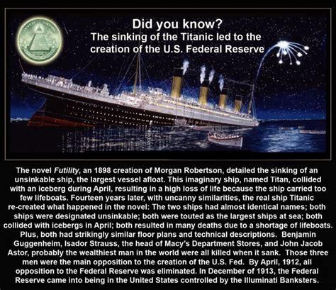 Titanic Sinking Conspiracy 440 illuminati titanic 187 extremelifechanger