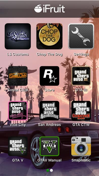 ifruit mobile app grand theft auto ifruit free ver 14 0 for