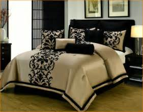 black bed comforter sets black and gold bed sets home design remodeling ideas