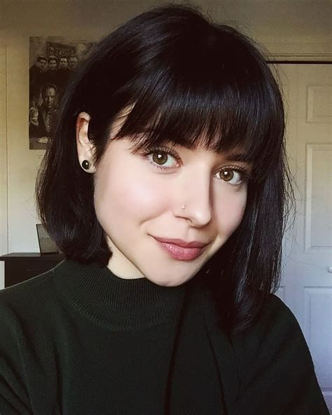 short brunette hairstyles bangs bangs short hair baaaaaangs pinterest bangs short
