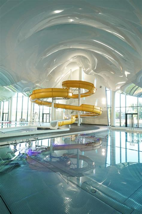 aquarena  arras france newmat stretch ceiling