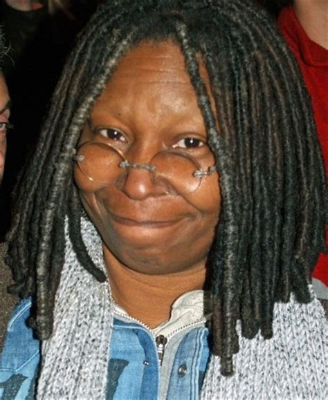 is whoopi goldberg bald whoopi goldberg chooses to shave her eyebrows and people
