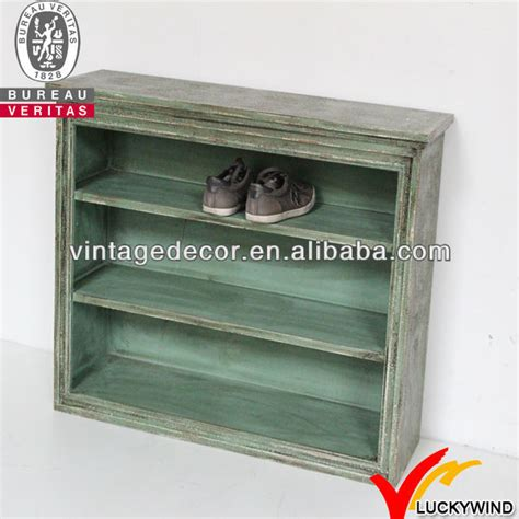 Handmade Shoe Rack - shabby chic shoe cabinet door handmade wooden shoe rack