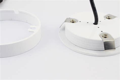 volt  white surface epistar led puck light  lm