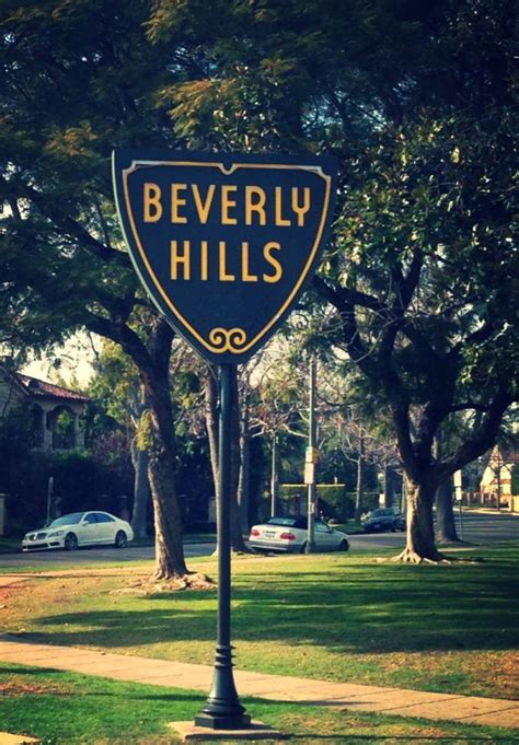 beverly hills sign beverly hills sign west hollywood california ca