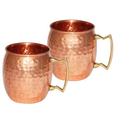Handmade Copper Mugs - handmade copper hammered moscow mule mug