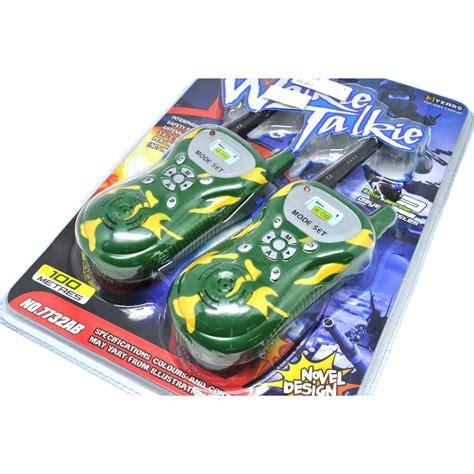 Mainan Anak Children Walkie Talkie 1 Pair 2pcs ji yuan mainan walkie talkie 1 pair camouflage jakartanotebook