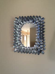 spotted diy wall art with painted spoons crafting a green world 1000 images about plastic spoon crafts on pinterest