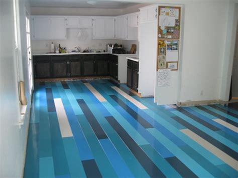 before after david s blue floors design sponge