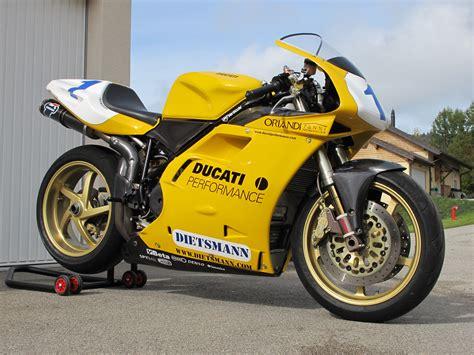 Motorrad Ducati 748 by Ducati 748 Racing 1996 Supersport European Chionship