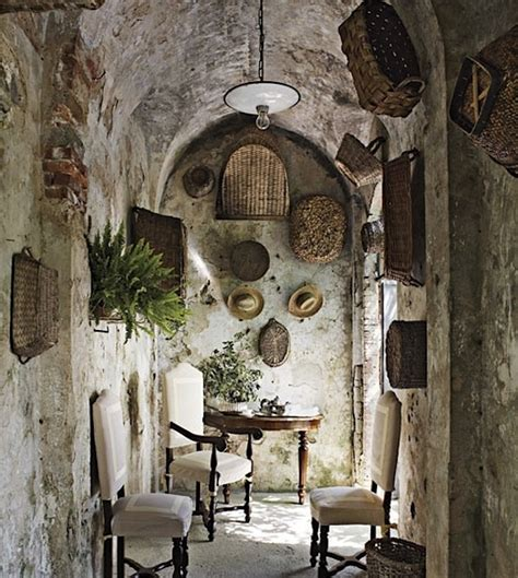 decoration rustic italian decorating ideas tuscan wall decorating with baskets the cottage market