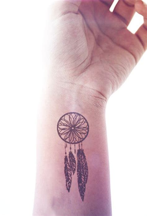tattoo dream catcher on wrist original jpg