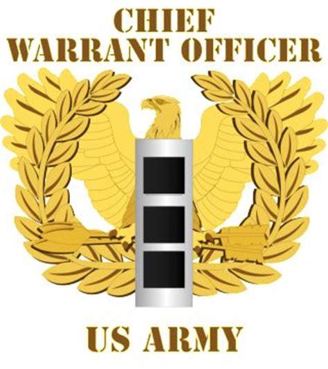 Chief Warrant Officer 3 by Army Emblem Warrant Officer Cw3 2 Army Rank