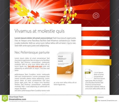 templates for dynamic website dynamic website template stock photos image 13326533