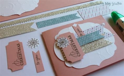 Handmade Card Tutorials - handmade cards the crafty stalker