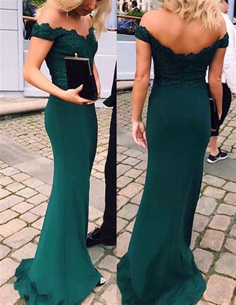 Dress Green On Sale shoulder emerald green prom dress dresses