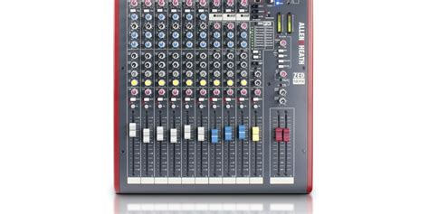 Mixer Allen Heath Zed 12 allen heath zed 12fx 12 input usb audio mixer with 2 band eq effects
