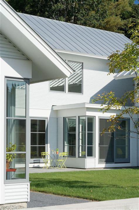 design house burlington contemporary vermont farm house farmhouse exterior