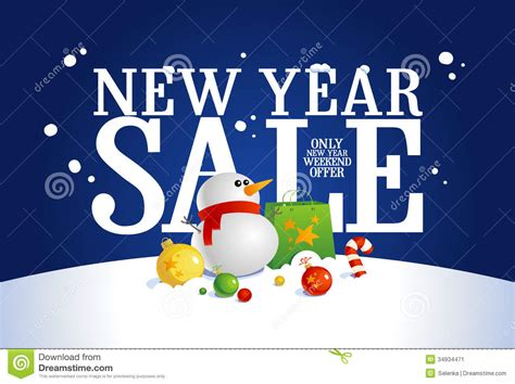 new year sale vector new year sale banner stock vector image of
