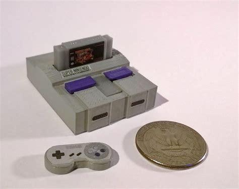 mini console 13 mini consoles de jeux vid 233 o r 233 alis 233 es par imprimante 3d