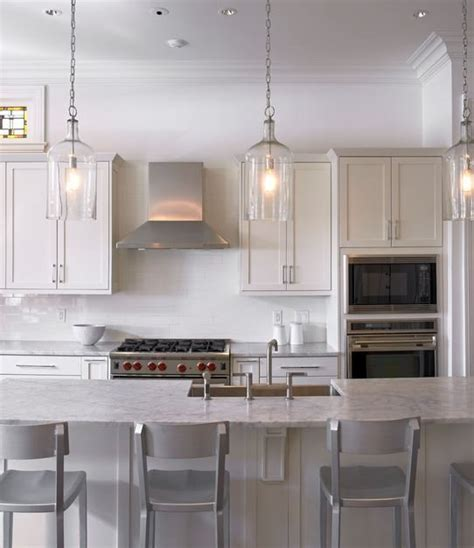 hanging lights in kitchen kitchen pendant lighting home decorating