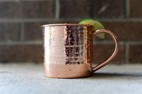 Hammered Moscow Mule Mug · Copper Mugs · Online Store ...