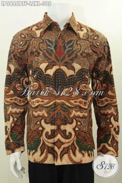 Kemeja Batik Slimfit Cbs 151 Premium baju hem elegan buatan baju batik lengan panjang furing kwalitas premium proses kombinasi