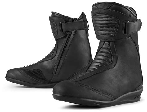 women s touring motorcycle boots icon 1000 eastside wp women s boots 21 40 00 off