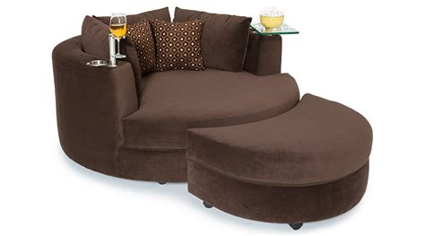 cuddle couch with tray how to design a home theater in a small space seatcraft