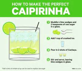 how to make here s how to make the national cocktail of brazil the