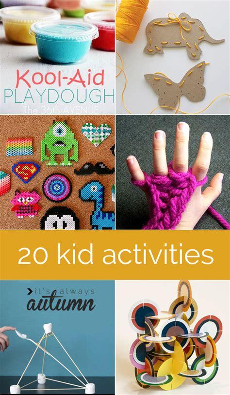 best kid crafts 20 best indoor kid crafts and activities