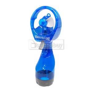 handheld misting fan portable held battery power fan air water mist bottle cooling spray office ebay