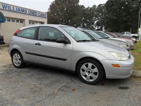 This Is A Silver 5 Speed Manual 2001 Ford Focus Zx3 With