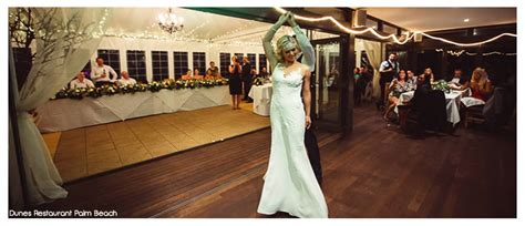 wedding ceremony venues inner west sydney dunes restaurant palm wedding venue hire birthday